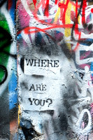 Where Are You? Graffiti | Melbourne, Australia