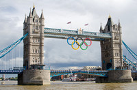 Olympic Rings | Tower Bridge, London, England